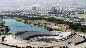 stadium no 4 terbesar azadi tehran iran