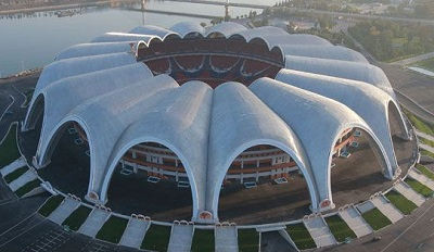 stadium terbesar dunia rungrado may day pyongyang korea utara