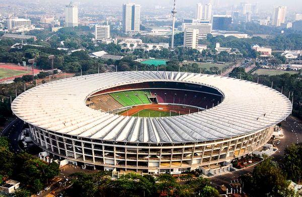 stadium terbesar no 8 gelora bung karno jakarta indonesia