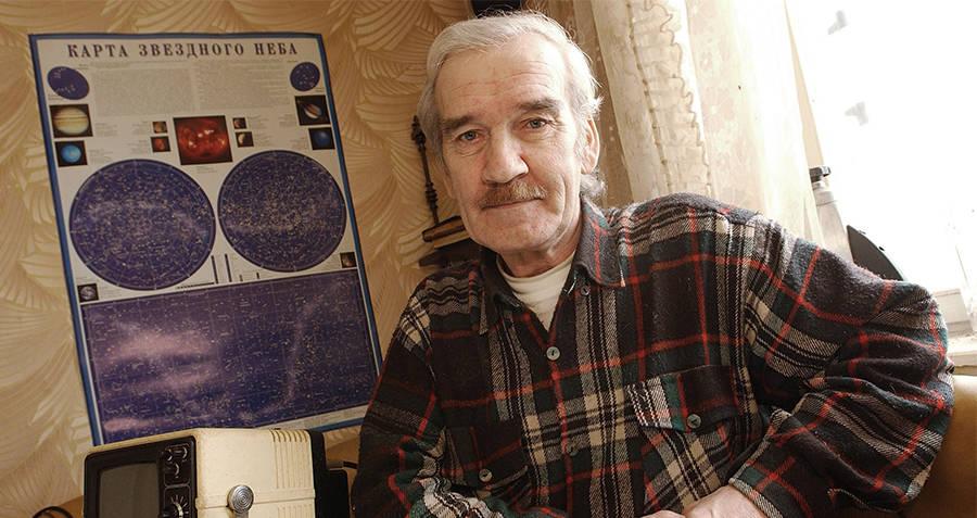 stanislav petrov di rumahnya pada tahun 2004