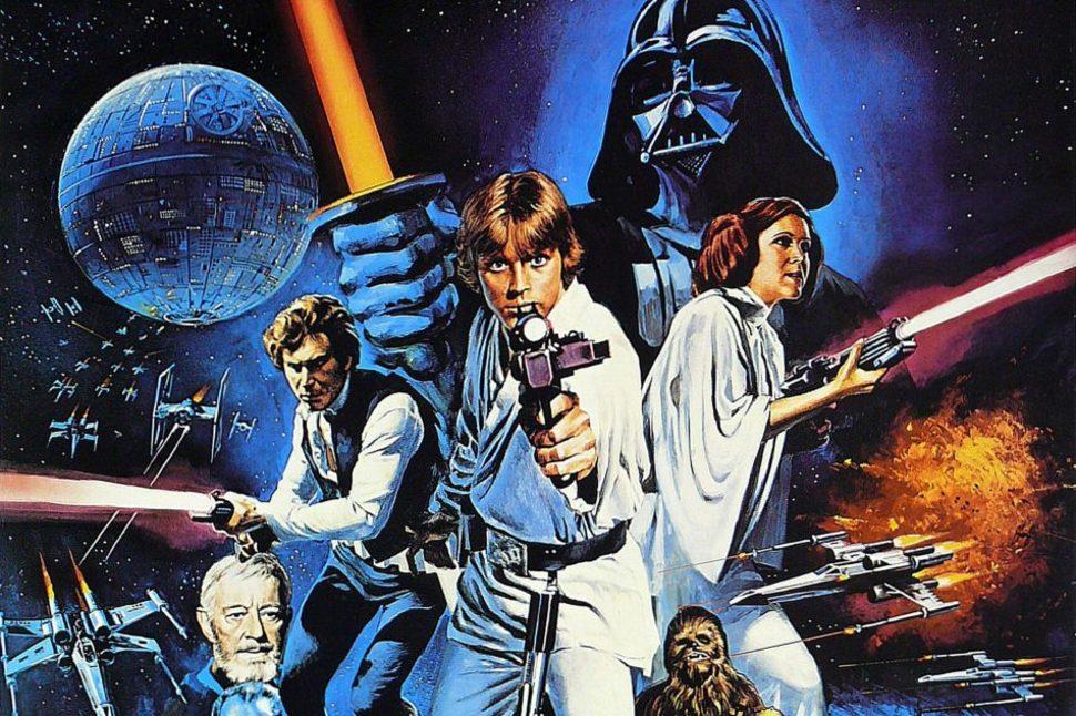 star wars a new hope episode iv original poster 1977