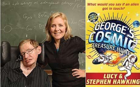 stephen hawking dan lucy hawking menulis buku kanak kanak