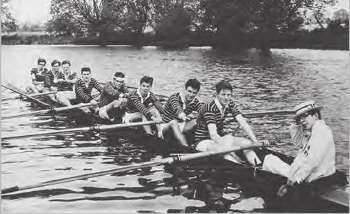 stephen hawking sebahagian daripada rowing team pasukan mendayung oxford
