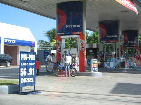 stesen minyak di filipina