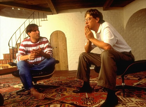 steve jobs dan bill gates 1991
