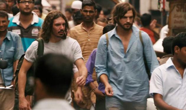 steve jobs di india dari filem jobs
