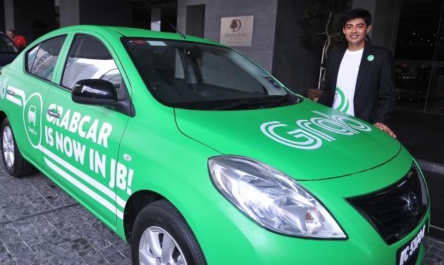 sticker wrap kereta grab warna hijau