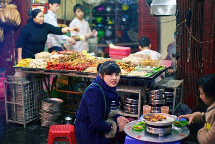 street food di vietnam