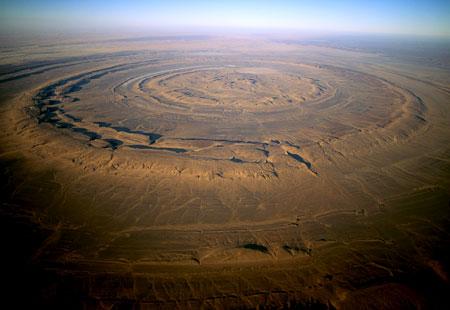 struktur richat mauritania