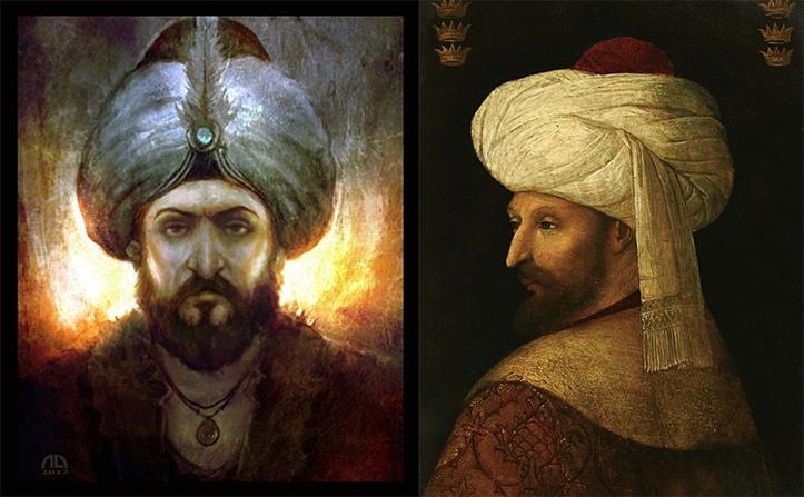 sultan mehmed pemimpin empayar turki uthmaniyah mehmed the conquerer