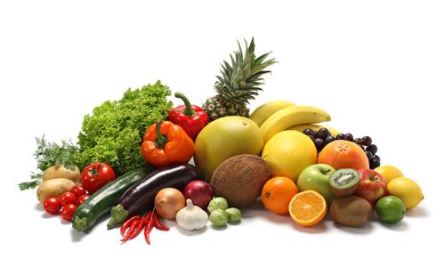 sumber vitamin dari buah dan sayuran
