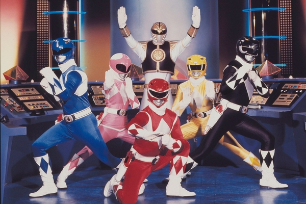 sumpahan power rangers