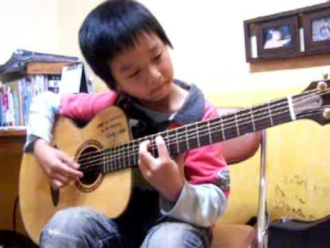 sungha jung main guitar sejak kecil