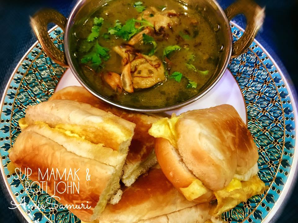 Resepi Sup Mamak Cicah Roti John | Iluminasi