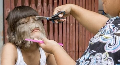 Image result for wanita cukur bulu di wajahnya supatra natty