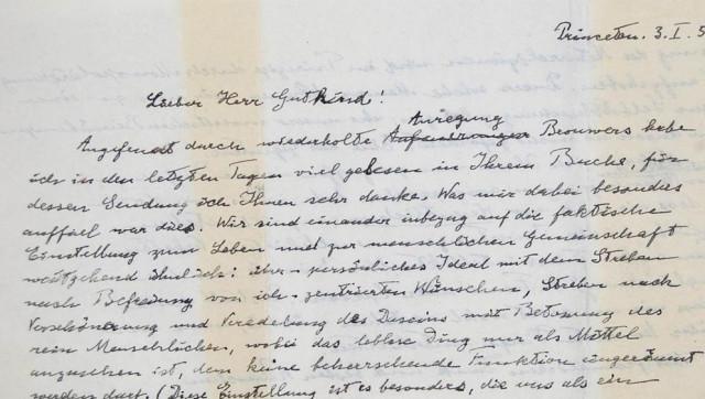 surat albert einstein paling mahal pernah dijual di ebay