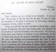 surat kedua mahatma gandhi kepada adolf hitler 115