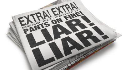 surat khabar dan berita adalah penipu