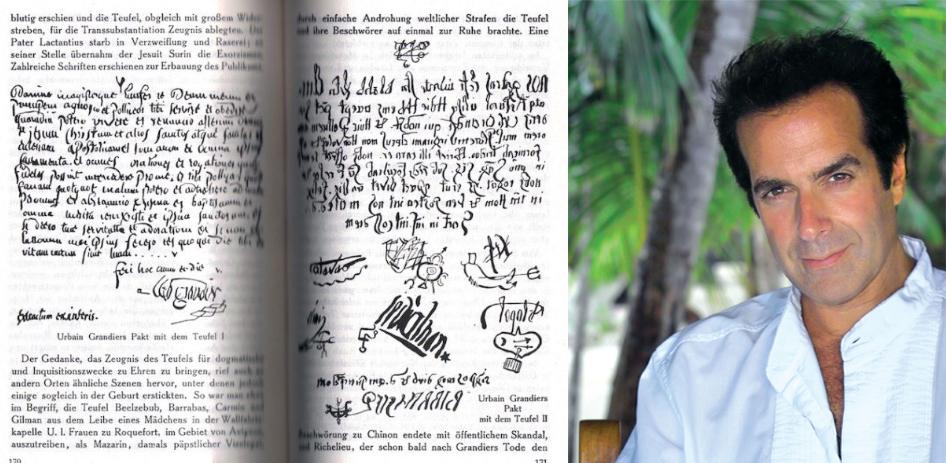 surat perjanjian david copperfield dengan syaitan ifrit