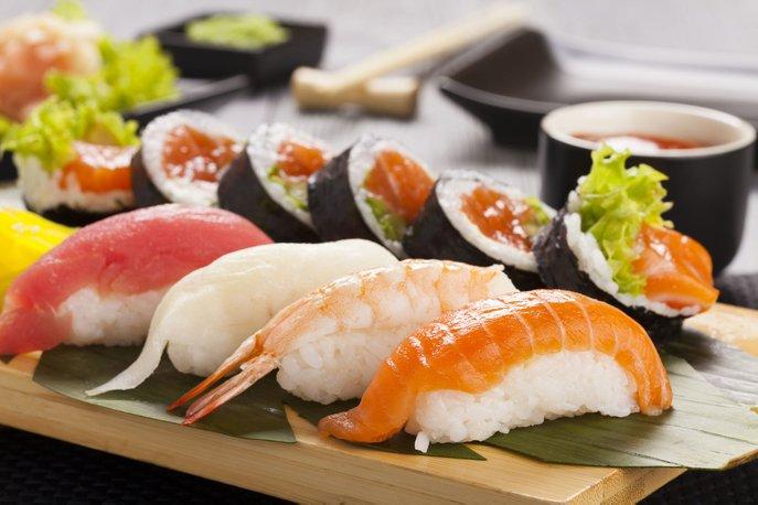sushi dan wasabi tidak dapat dipisahkan