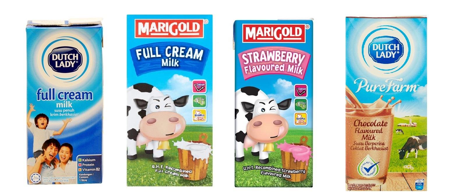 susu uht campur semula recombined milk 2 412