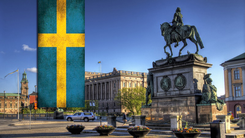 sweden darurat sampah