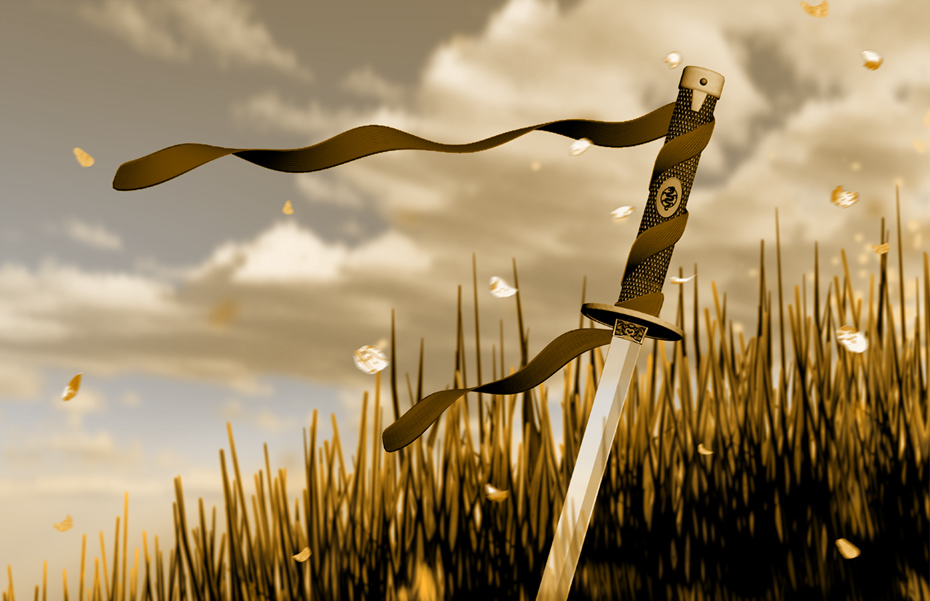 sword in the grass by doctororpheus 256