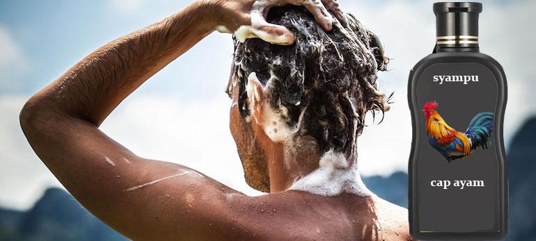 syampu rambut mungkin mengandungi bahan daripada khinzir
