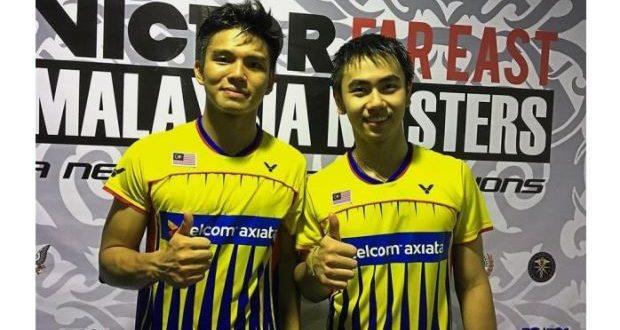 sze fei izzuddin lengkapkan kejayaan 5 0 malaysia di kejohanan badminton berpasukan asia