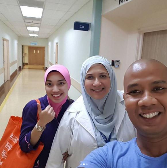 tahniah faizal ismail selamat timang anak kelima 3