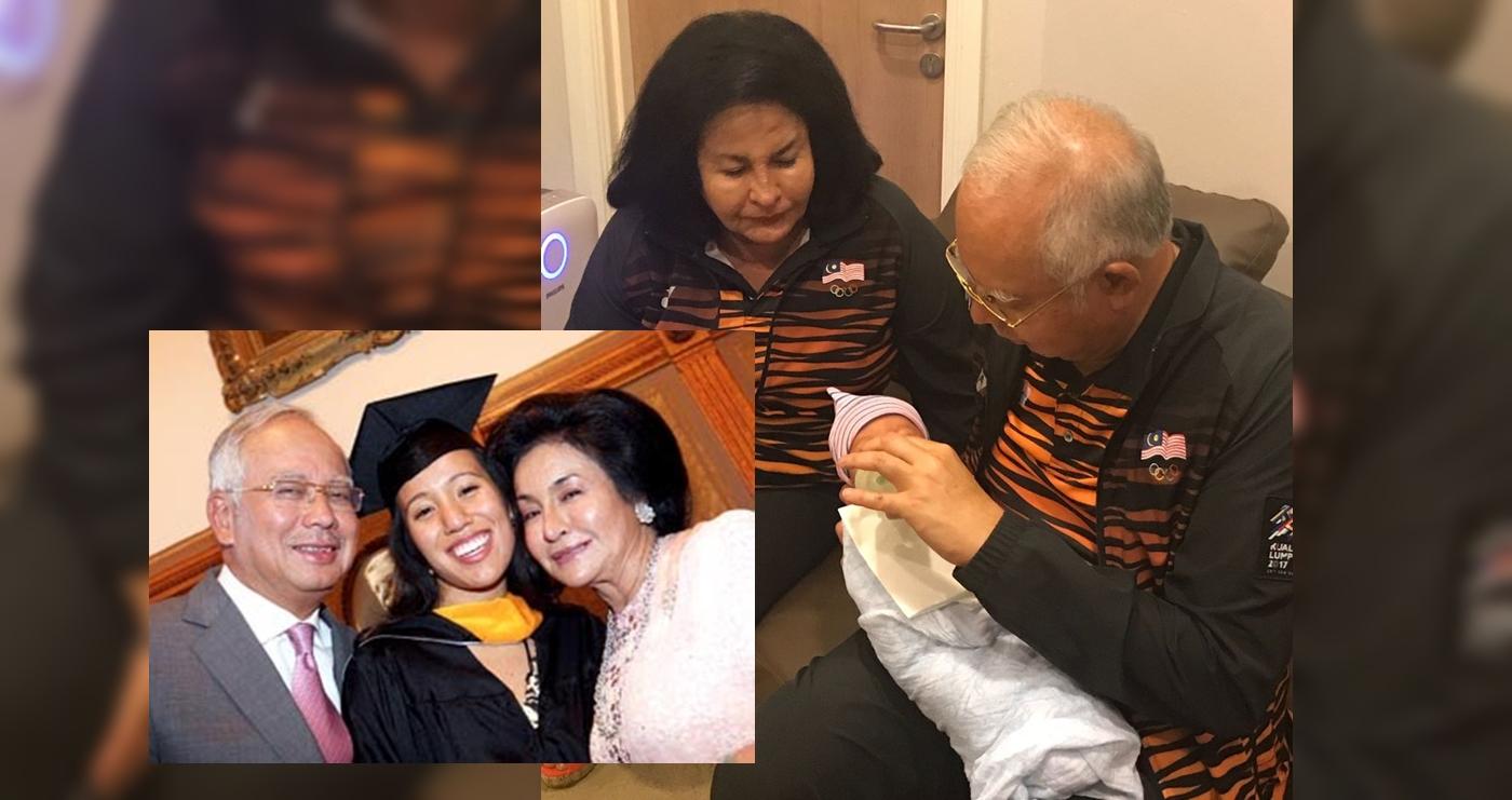 tahniah perdana menteri najib razak dapat cucu lelaki 1