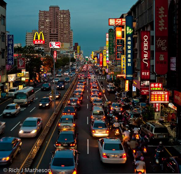 tainan trafik sesak paling teruk dalam dunia
