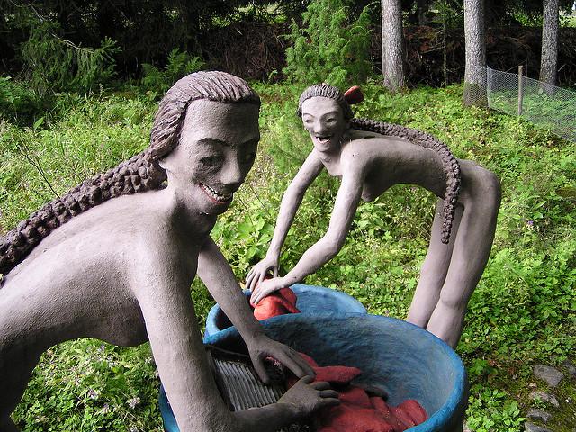 taman patung di finland