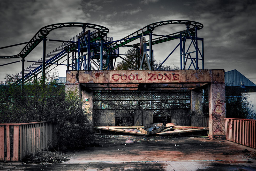 taman tema six flags new orleans