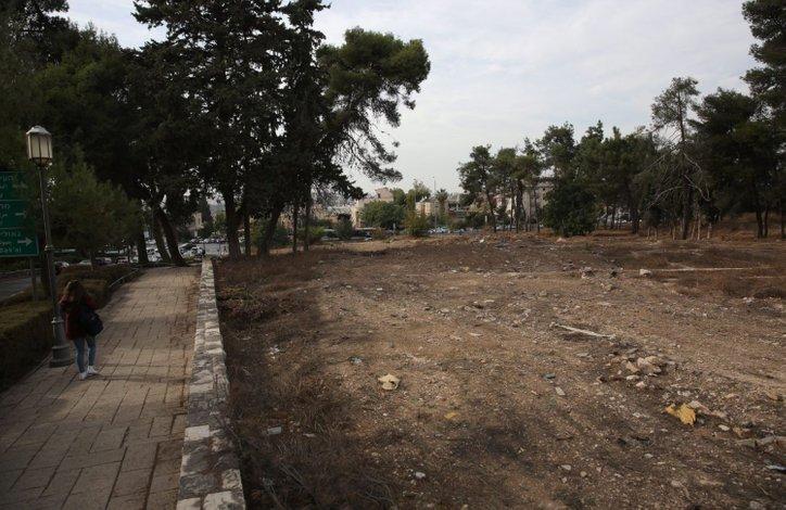 tanah lot untuk kedutaan di jerusalem