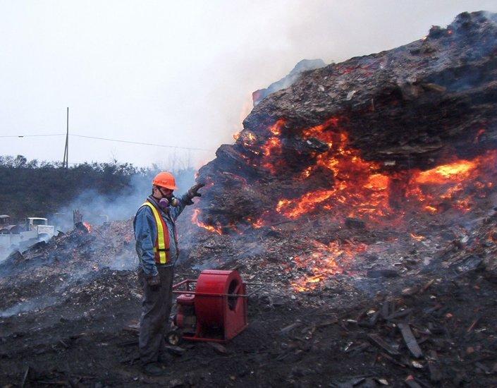 tanah terbakar centralia 12