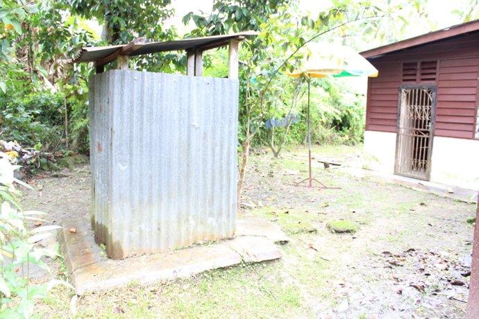 tandas kampung selalu dibina berasingan