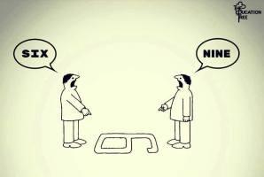 tanggapan dunia hanya ada betul dan salah