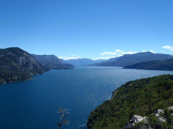tasik o higgins san mart n lake tasik paling besar dan dalam di dunia