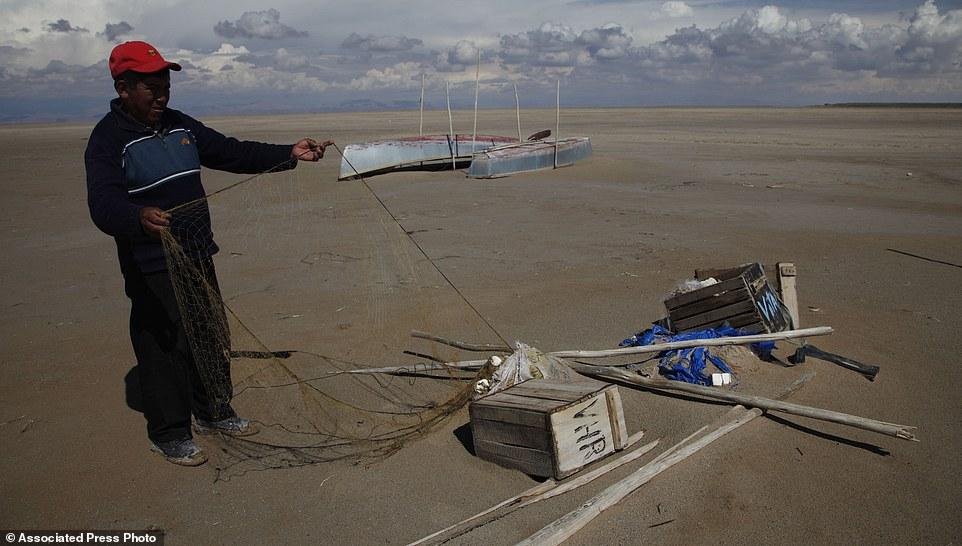 tasik poopo bolivia kering kontang akibat pemanasan global masalah ekologi