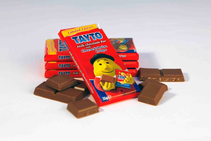 tayto cheese and onion milk chocolate