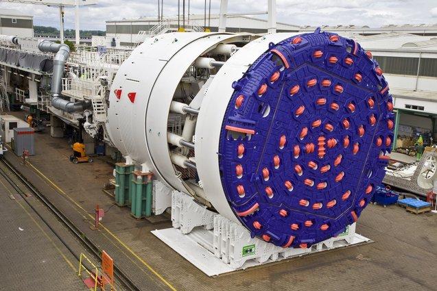 tbm ini cara bagaimana terowong dalam laut dibina 2