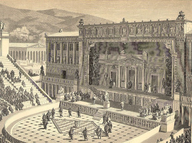 teater zaman rom