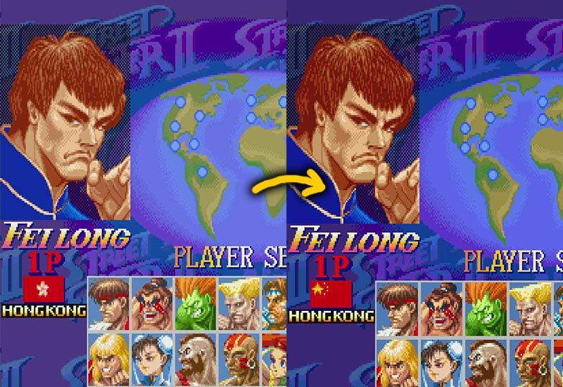 tekanan china street fighter hong kong fei long