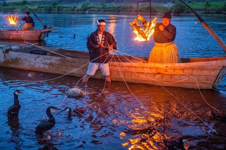 teknik memancing tradisional
