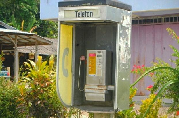 telefon awam rosak