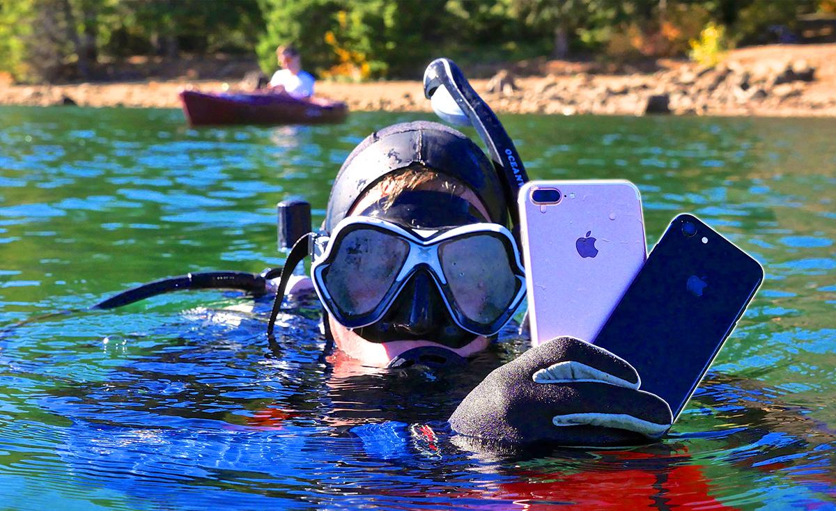 telefon pintar kalis air