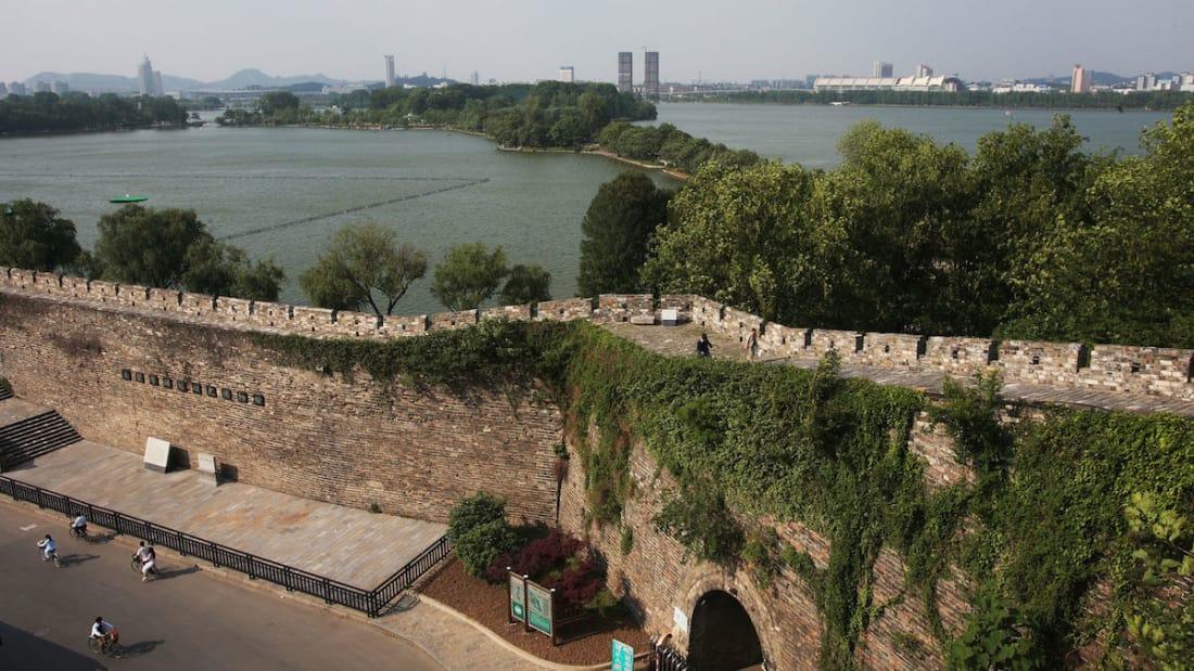 tembok besar china nanjing unesco jarang didengari dan tidak begitu ramai pengunjung