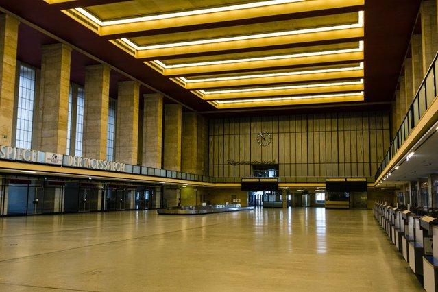 tempelhof airport di berlin jerman