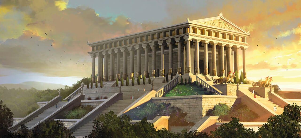 temple of artemis keajaiban dunia seven wonders
